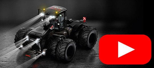 Claas Xerion black edition