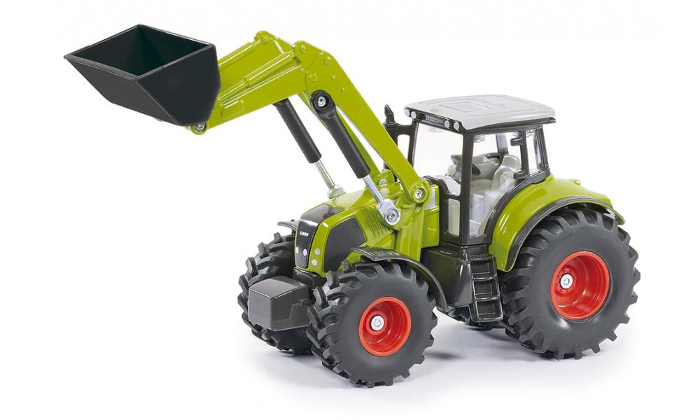 claas axion 850 avec chargeur frontal - tracteurs